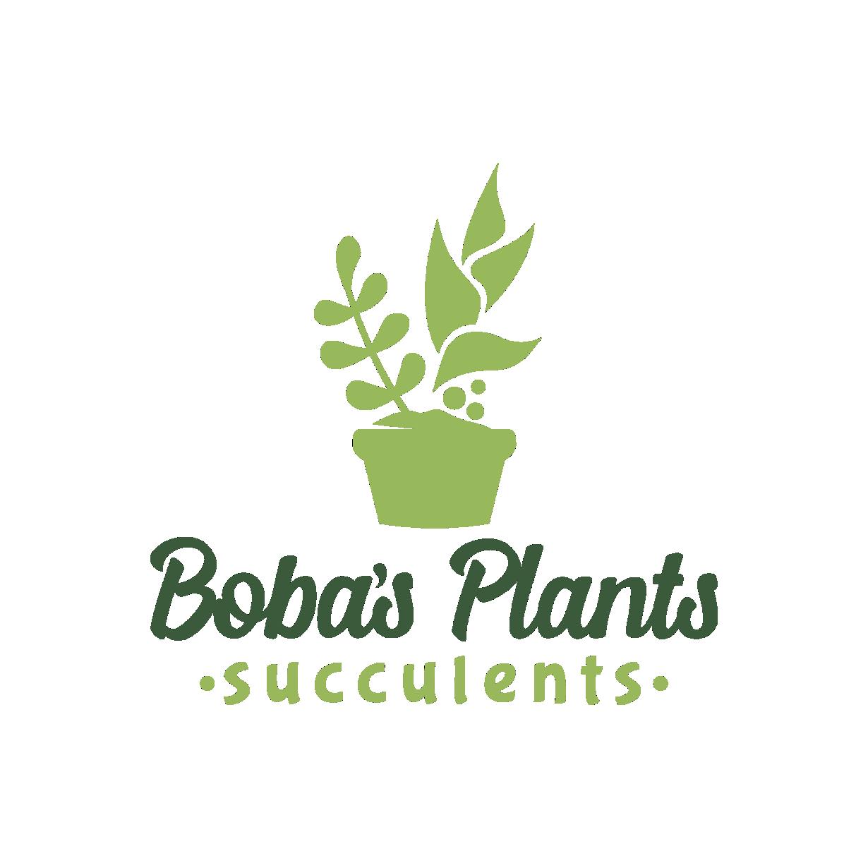 Bobas Plants Logo
